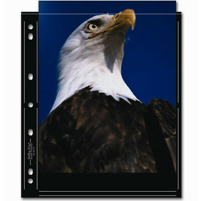 """50 x PRINT FILE 8"""" x 10"""" Photo Pages Sleeves Clear Archival Preservers 810-2S"""