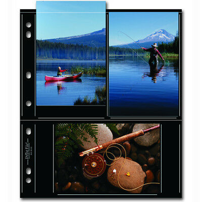 """50 x PRINT FILE 4""""x6"""" Photo Pages Sleeves Clear Archival Preservers 46-6S"""