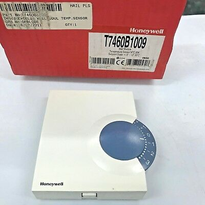 HONEYWELL T7460B1009 Wall Module, Temperature Sensor NTC 20K