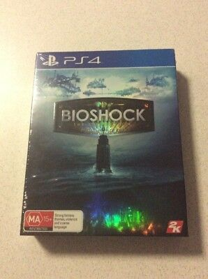 Bioshock The Collection Sony PlayStation 4 Console Game Brand New Sealed AUS