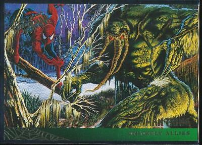 1995 Fleer Ultra Spider-Man Premiere Trading Card #132 Man-Thing
