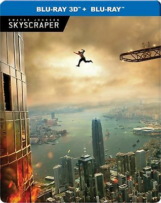 Skyscraper+justice league (3D Blu-ray) 2 in 1 ***offer price only blu ray