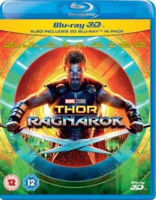 Thor: Ragnarok (3D)+ Avengers infinity war (3D) blu ray***offer