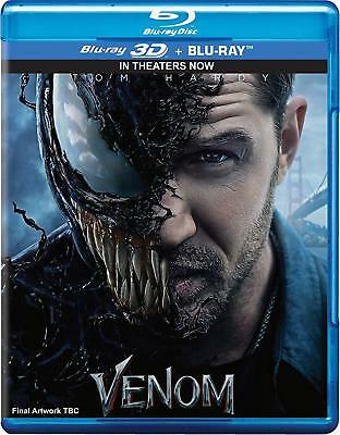 Venom (3D)2018+ Deep (3D) 2018 bluray only 2in1 ofeer price***free shipping