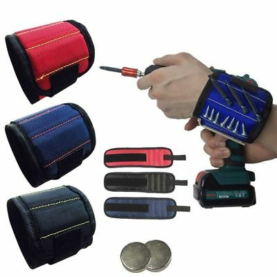Magnetic Wristband Tool Belt Screw Scissor Holder Storage Wrist Bracelet Gift