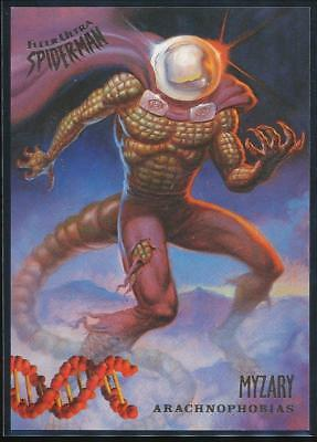 1995 Fleer Ultra Spider-Man Premiere Trading Card #148 Myzary