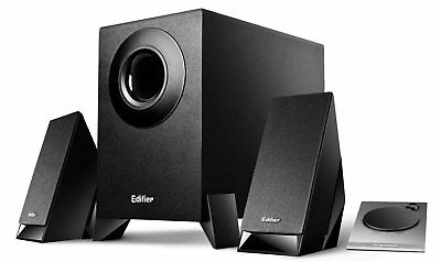 Edifier M1360 2.1 Channel Multimedia Speakers - 8.5W RMS, 3.5mm AUX/RCA