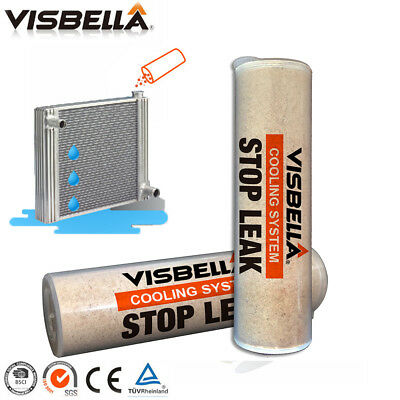 Practical Visbella Car Water Tank Radiator Stop Leak Sealing Powder Repair Fix