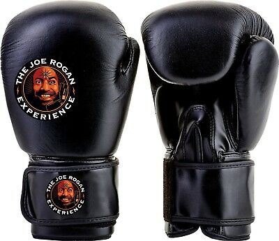 Joe Rogan Boxing Gloves MMA Sparring Kickboxing Pro Fight Training UFC 4589