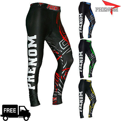 New Mens Compression Pants Tights Workout Base Layers Rugby Skins Fitness