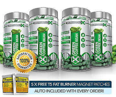 X4 Premium Green Coffee Bean Extract - Legal Slimming / Diet & Weight Loss Pills