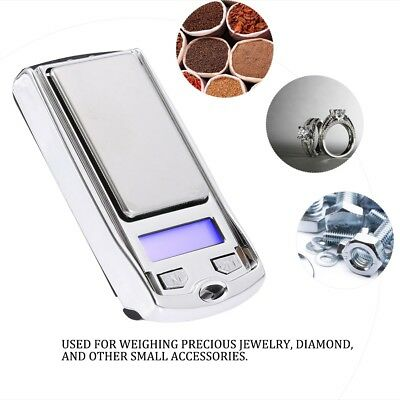 Mini 0.01 100g/0.01 200g Digital Jewelry Scale Dual Weight Electronic Pocket LCD