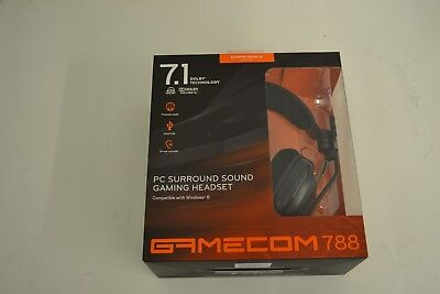 Plantronics GameCom 788 Gaming Headset USB 7.1 Surround Sound
