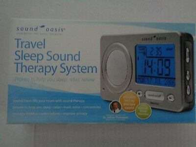 Sound Oasis Travel Sleep Sound Therapy System S-850