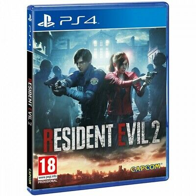 Resident Evil 2 Ps4 Remake Juego Físico Para Playstation 4 De Capcom