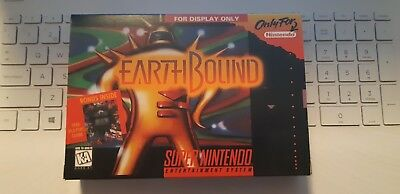 Earthbound Box New (for display only) Solo Caja Nueva