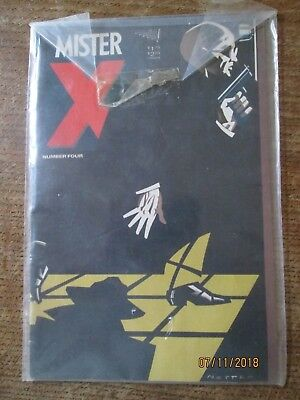 MISTER X, Volume 1 Number Four, Vortex Comics, May  still in cellophane wrapper!
