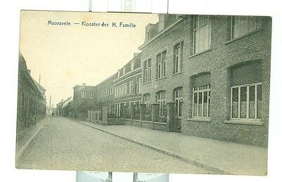CPA Moorseele Klooster der H. Familie monastère Sainte Famille ca1920