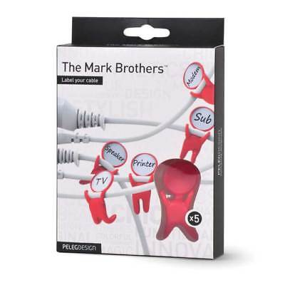 Peleg - The Mark Brothers / Kabeletiketten Set