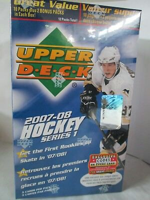 2007-08 Upper Deck Series 1 Hockey Blaster Sealed Box