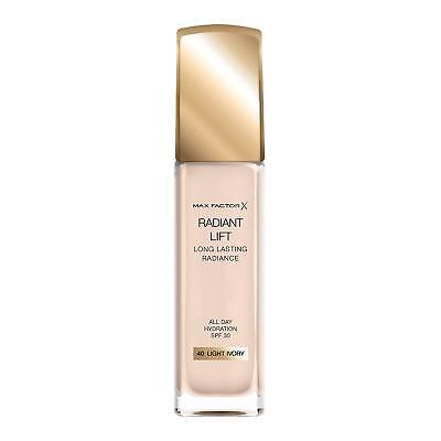Max Factor  Radiant Lift Foundation, SPF 30 and Hyaluronic Acid, 40 Light Ivory