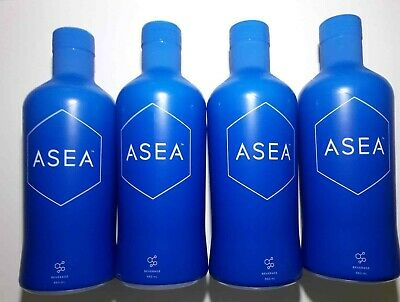ASEA Redox Supp Water -1 Case (4 Bottles ) $55.50 each Exp 02/2020 FREE POST