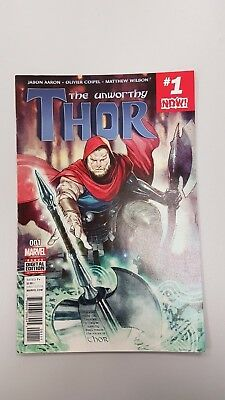 Marvel Comics: The Unworthy Thor #1 (2017) - BN - Bagged & Boarded