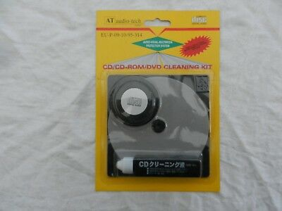 Audio-tech - Kit neuf pour nettoyage CD/CD-ROM/DVD Cleaning kit