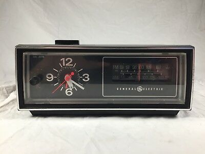 Vintage General Electric Alarm Clock Radio GE Backlit