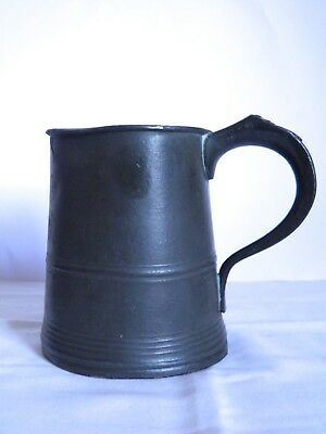 Antique Pewter Mug Yates Birch and Spooner Georgian Early Victorian 1828 - 1839