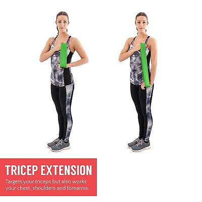 Resistance Bands | Set Of 4 Heavy Duty Fitness Exercise - Proworks