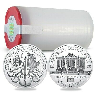 Austria 1 oz Silver Philharmonic (Random Year) Lot of 20 - SKU #171385