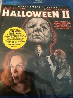 Halloween II (Blu-ray, Scream Factory Collector's Edition) Jamie Lee Curtis