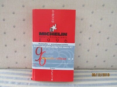 guide michelin 1996 complet