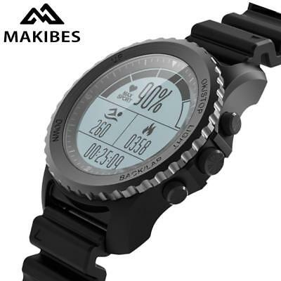 Makibes G07 GPS reloj Sport Smart Watch hombres mujeres impermeable buceo múltip