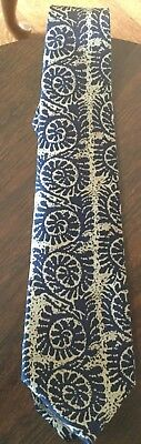 OSCAR de la RENTA, Couture Collection, Men's Tie, Shells, 100% Silk, Made in USA