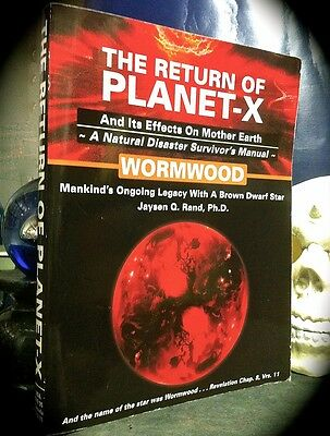 Jaysen Q. Rand: The Return Of Planet-X ~ O.o.p. Large 2007 Sc Conspiracy Ufology