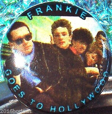 Pin & FREE FRANKIE GOES TO HOLLYWOOD & HOLLY JOHNSON (solo) Music Video 2 DVD s