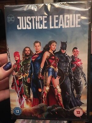 Justice League 2018 DVD, BRAND NEW AND SEALED FREE UK POSTAGE BEN AFFLECK