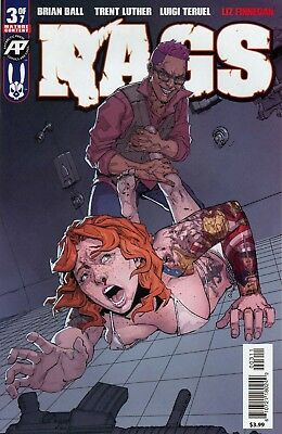 Rags #3 Antartic Press Ball Luther Teruel Finnegan 1st Print NM