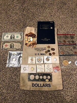 Nice Junk Drawer Coin And Currency Lot