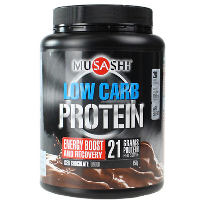 MUSASHI 850g LOW CARB PROTEIN ICED CHOCOLATE FLAVOUR