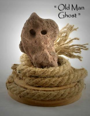 "FREAKY FACE IN ROCK- ""OLD MAN GHOST"" -Unique Curiosity Artifact, Pagan / Wicca"