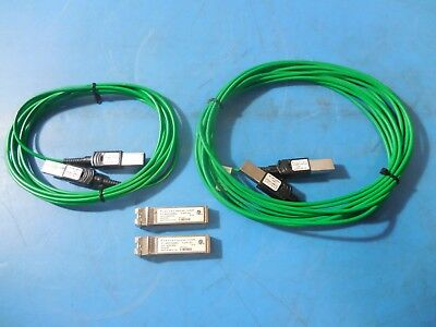 Finisar Laserwire FCBP110LD1L Active Optical Cable w/ (2)-FTLX0071D4BNL Adapters