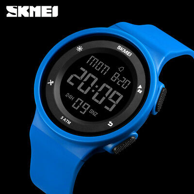 SKMEI Men Women Digital Outdoor Sports Wristwatch 50m Waterproof Watch 1445