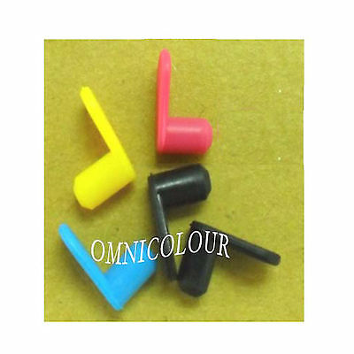 5 rubber plugs plug for HP Canon Brother refillable cartridge CISS hp564 364 940