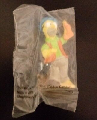 1990 Burger King Kids' Meal Toy ~~ The Simpson Go Camping HOMER Skunk ~~ NIP