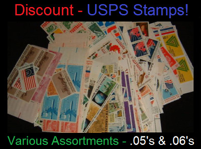 $4.08 Face Value (FV) Discount USA USPS Postage Stamps w/ FREE Shipping!