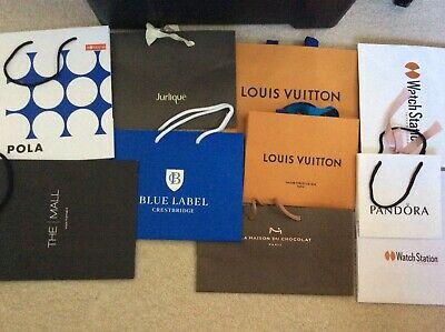 Mixed 14 Louis Vuitton Hugo Boss Bally Vivienne Westwood Paper Protective Bags