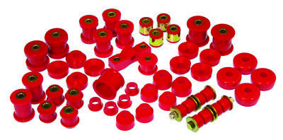 Prothane for 84-87 Honda Civic/CRX Total Kit - Red - pro8-2001
